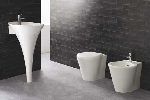 Lavabo A Colonna Design lavabo su colonna ice vendita on line